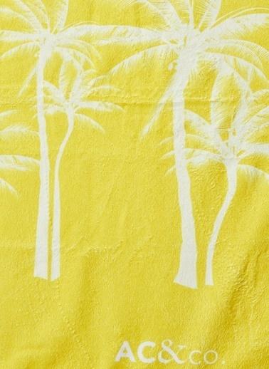 AC&Co / Altınyıldız Classics Sarı Plaj Havlusu 4A5419200004 Sarı